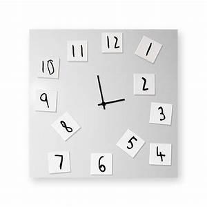 Horloge Murale Grise : horloge murale grise amazing horloge murale cm bois blanc grav old west pier import with ~ Teatrodelosmanantiales.com Idées de Décoration
