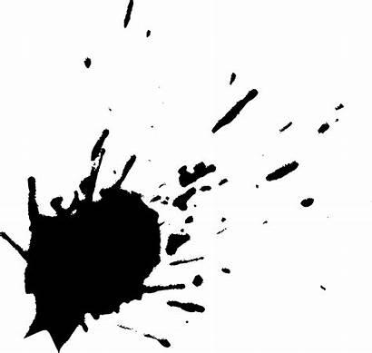 Splatter Paint Ink Transparent Splatters Background Splash