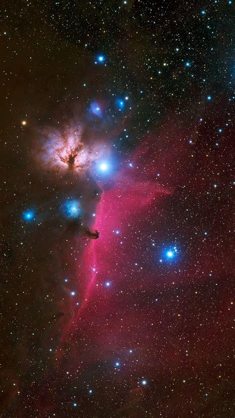 wallpaper horsehead nebula galaxy stars universe