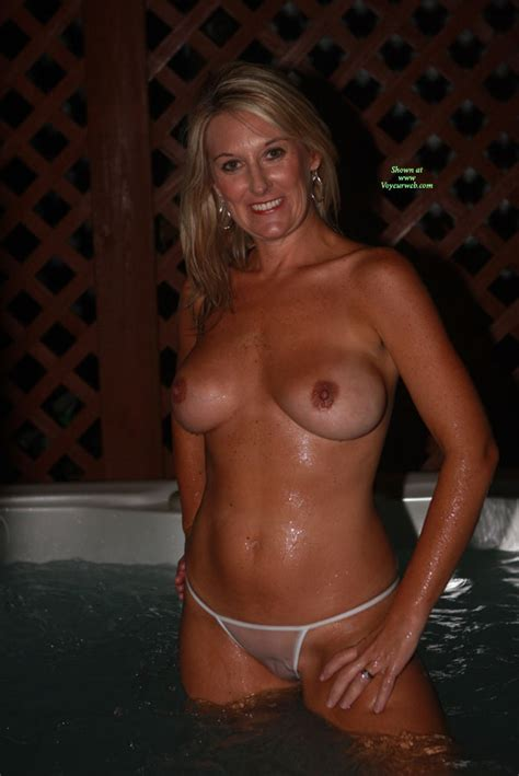 wife hot tub sex mature sex