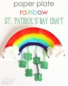 Paper Plate Rainbow St. Patrick's Day Craft and a GIVEAWAY ...