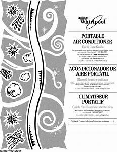 Whirlpool Portable Air Conditioner Parts