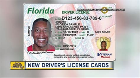 Florida Drivers License Template by Check Out Florida S New Driver S Licenses And Id Cards