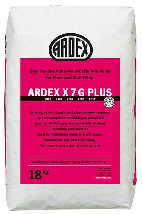 Ardex Fliesenkleber X7g Plus ardex x7g plus pdf