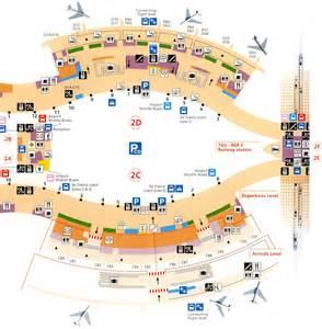 Paris Charles De Gaulle Airport Terminal Map