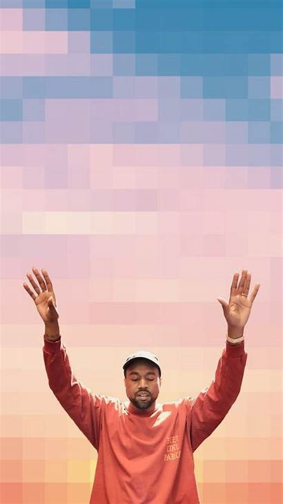 Kanye West Iphone Pablo Backgrounds Holding Wallpapers