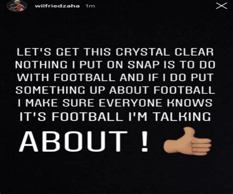 Crystal Palace Star Wilfried Zaha Posts Cryptic Message on ...