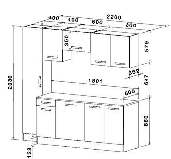 dimension meuble de cuisine meubles de cuisine 7 233 l 233 ments gris alu et blanc cbc meubles