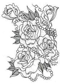 Best tattoo rose outline shape ideas #tattoo   Flower