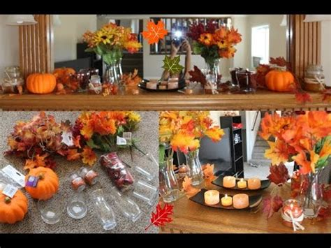 Fall Series Diy Fall Decorations & Ideas Dollar Tree Haul Youtube