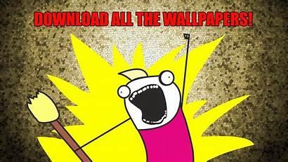 Meme Funny Wallpapers Scream Humor Yellow Desktop