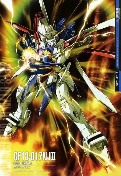 Gundam God Fighter Mobile Perfect Shining Mecha