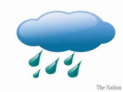 Cloudy Partly Weather Forecast Cartoon Clipart Fair