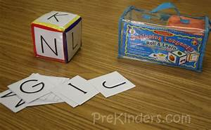 alphabet dice games prekinders With letter dice game