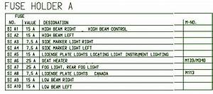 2008 Volkswagen Passat Interior Fuse Box Diagram  U2013 Circuit