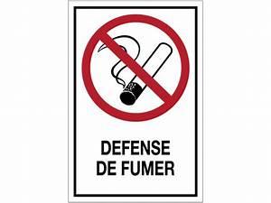 Panneau Interdiction De Fumer : panneau d 39 interdiction grand format d fense de fumer ~ Melissatoandfro.com Idées de Décoration