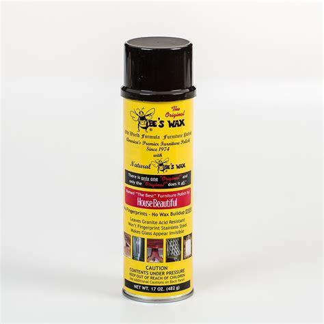Original Bee's Wax All Purpose Polish Spray Beeswax 17oz