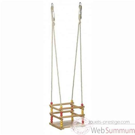balancoire siege balançoire bébé siège bois droit 1504 de toys