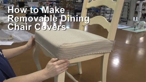 removable dining chair covers youtube