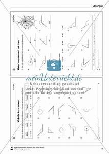 Rechter Winkel Messen : winkel messen und zeichnen meinunterricht ~ Frokenaadalensverden.com Haus und Dekorationen