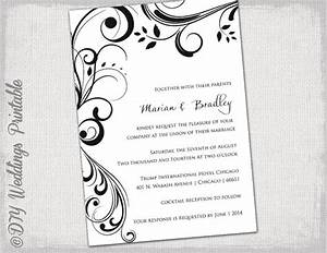 Free wedding invitation templates for microsoft word for Free wedding invitation templates 5 5 x 8 5