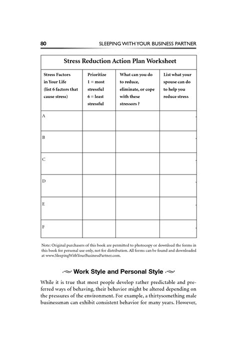 coping  stress worksheets bing images stress