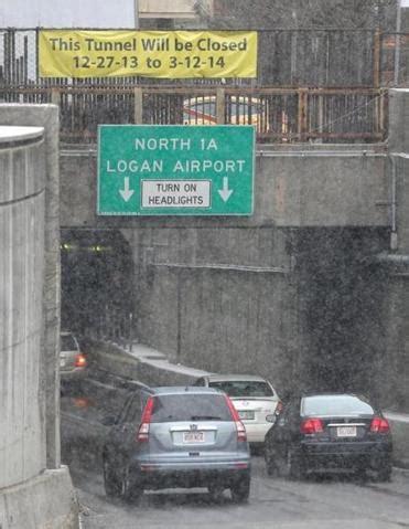 callahan tunnel closure begins   pm tonight