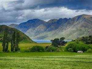 Landscape Of New Zealand Beautiful Hd Wallpaper For Your Desktop   Wallpapers13 Com