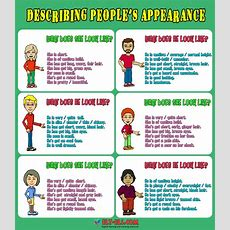 Describing People's Physical Appearance Wwweltelscom