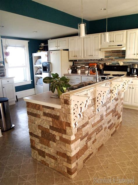 how to add a kitchen island adding airstone to the breakfast bar reality daydream