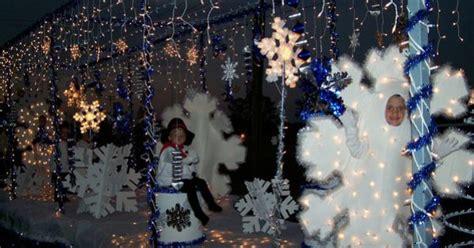 snowflakesnowman christmas float parade floats