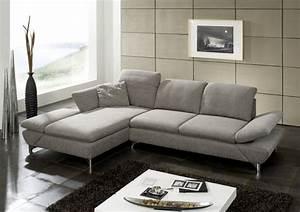 Canapé 4 Places Cuir : canap d angle lineflex 4 places avec tr s grande chaise longue gauche en cuir ou tissu ~ Teatrodelosmanantiales.com Idées de Décoration