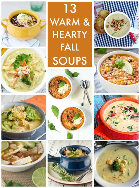 hearty soups for fall great ideas 13 warm hearty fall soups
