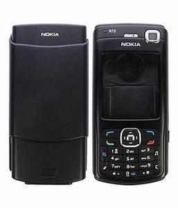 Full Housing For Nokia N70 - Black