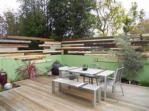13 idees recup39 pour decorer votre exterieur a moindre cout With idee deco terrasse exterieure 1 idee deco au jardin comment habiller un mur prima