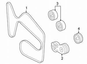 Chevrolet Impala Serpentine Belt  Belts  Drive  Liter