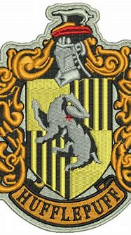 Hufflepuff Crest Harry Potter Machine Embroidery Design ...