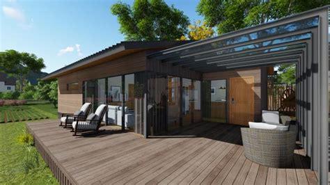 deluxe wood luxury prefab house duplex aluminium house kit  garden