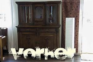 Möbel Vorher Nachher : schrank mit kreidefarbe gestrichen ~ Markanthonyermac.com Haus und Dekorationen