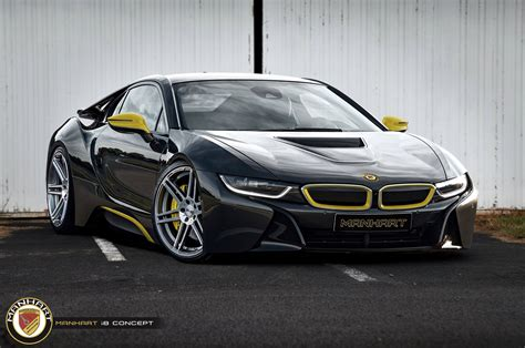 Bmw I8 Coupe Modification by Bimmerboost Manhart Racing Previews Their I8 Coupe