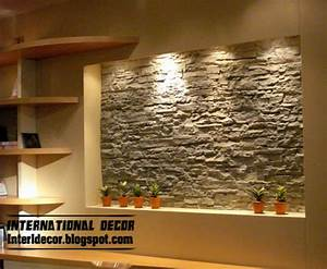 Interior stone wall tiles designs ideas modern