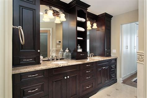 ideas for bathroom vanities and cabinets custom bathroom vanities personalize your space mountain
