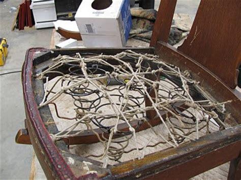 nelson furniture restoration rocking chair seat