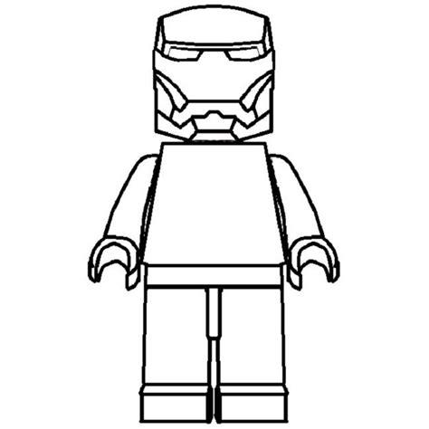 lego iron man coloring pages  print superhero