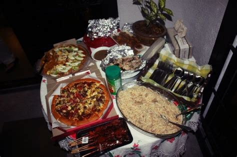 Filipino style party food. Teehee   Party Ideas   Pinterest
