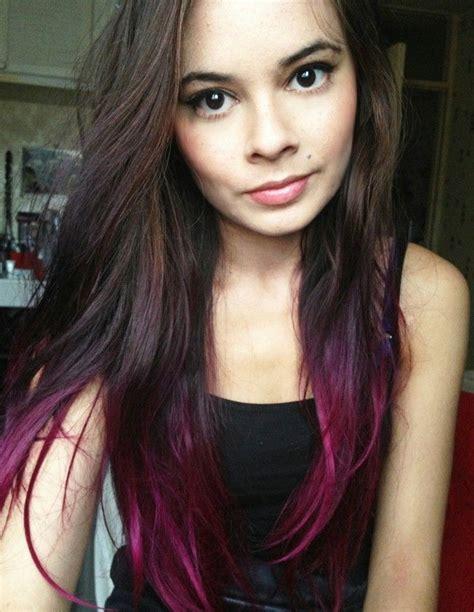 Best 25 Dip Dye Ideas On Pinterest Colored Hair Ends