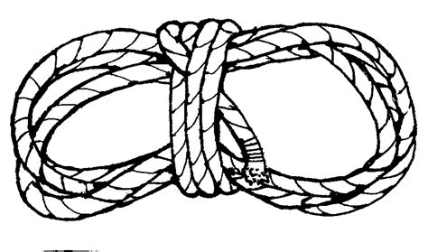 Coloring Ropes by Stallion Clipart Cliparts Co