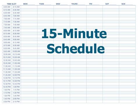 minute schedule template fee schedule template