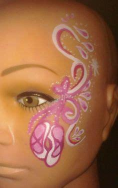 kinderschminken vir gesicht lustige ballerina kinderschminken
