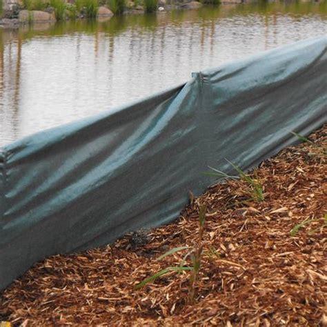 silt barrier mm   roll  construction site